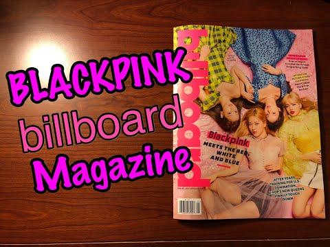 BLACKPINK Billboard Magazine (Quick look)