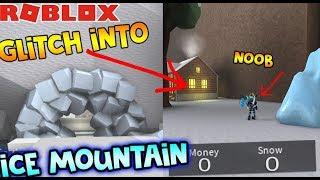 WIE MAN IN ICE MOUNTAIN OHNE SCHNEEMOBIL! | (Schneeschaufelsimulator) | ROBLOX