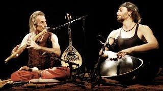 Avi Adir & Davide Swarup Live Concert - Bansuri & Hang Drum - Raga Kirwani - Arambol Goa 2014 Thumbnail