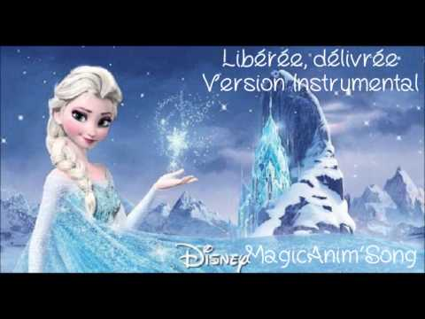 la reine des neiges lib r e d livr e instrumental youtube. Black Bedroom Furniture Sets. Home Design Ideas