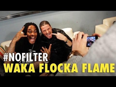 Getting Turnt Up with Waka Flocka Flame  Interview