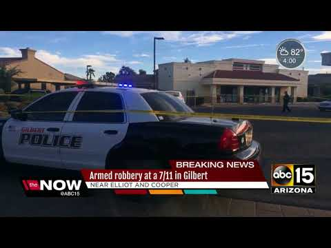 Attempted robbery suspect injured, arrested in Gilbert