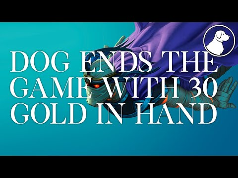 Dog Ends the Game with 30 Gold in Hand | Dogdog Hearthstone Battlegrounds