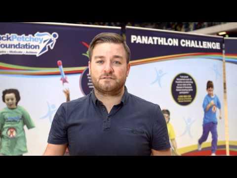 Panathlon Challenge intro with Alex Brooker