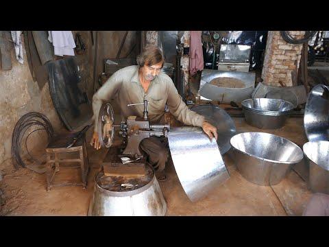 Making of Metal Tub by Using Wonderful Skills