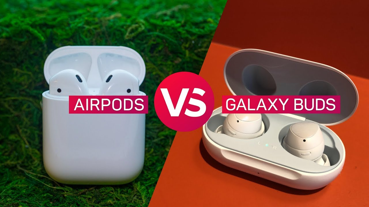 958eb51f9d3 AirPods vs. Galaxy Buds: Which wireless earphones are best? - YouTube