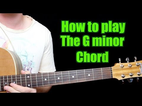 How to Play - G minor (Chord, Guitar)
