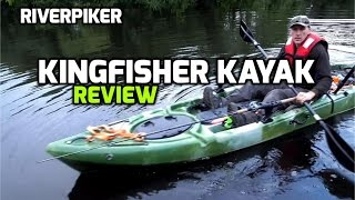 Kingfisher Kayak review - ( video 109)(Kingfisher Kayak review - Will and Charlotte at Bluefin Kayaks asked me to take the new 14ft Kingfisher Kayak out for a spin and see what I though of it and do a ..., 2015-09-04T17:00:00.000Z)