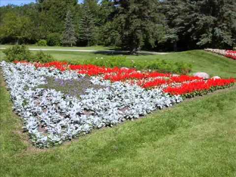 International Peace Garden Manitoba/North Dakota 2013 - YouTube