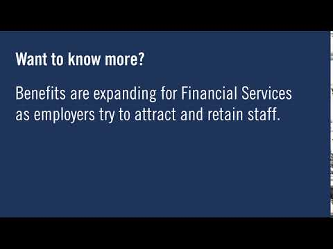 Benefits for Financial Services Professionals