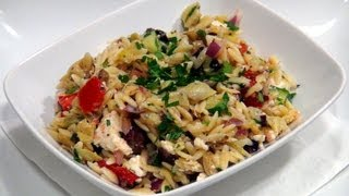 How To Make Cold Greek Orzo Salad Recipe
