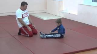 1.11.15 Открытый урок по дзюдо. Учимся падать - 4. Малыши 3 - 4 года. Centre Judo Kids. Feodosiya