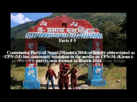 Communist Party of Nepal (Maoist)(2014) Top # 5 Facts