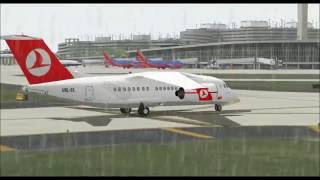 ANTONOV AN148 100 TURKISH AIRLINES LANDING AT TAMPA INTL AIRPORT FS9 HD