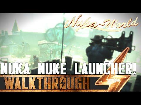 Fallout 4 Nuka World - Cappy In A Haystack Questline / Nuka Nuke Launcher Guide