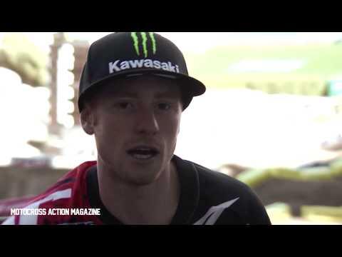 2013 Anaheim Supercross Ryan Villopoto uncut Interview-Motocross Action Magazine
