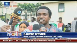 Group Protests, Demands Release Of El-Zakzaky