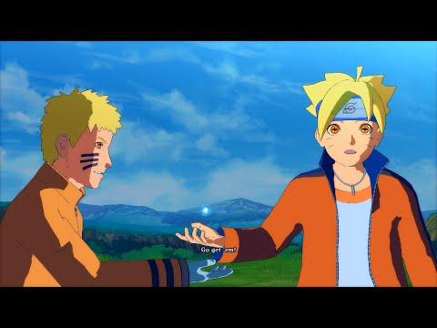 7th Hokage Kurama Naruto with Sage Boruto - Naruto Ultimate Ninja Storm 4 PC Moveset Mod Gameplay