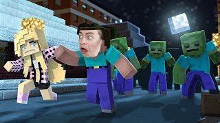 - ЗОМБИ АПОКАЛИПСИС В МАЙНКРАФТ СОФИЯ И ДИМА ИГРАЮТ В Minecraft