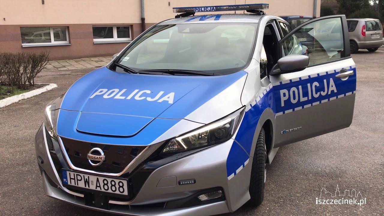 Elektryczny radiowóz już na ulicach Szczecinka [WIDEO]