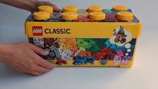 LEGO Brick Box CLASSIC Medium - 10696 -  Unboxing Review Play