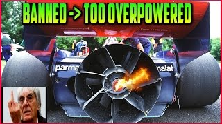 "BANNED Race Cars | Too overpowered, cheating and ""unwanted innovation"" 
