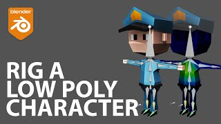 Rig a Low Poly Character in Bl…