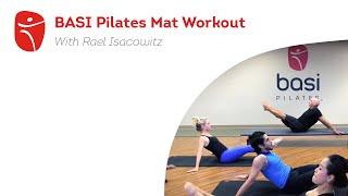 BASI Pilates Mat Workout with Rael Isacowitz