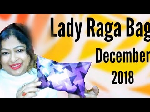 What's in my Beauty Bag?? Unboxing Lady Raga December Box 2018