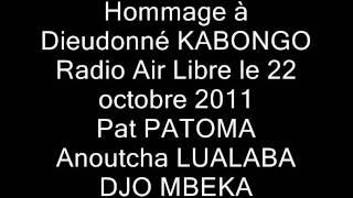 HOMMAGE A DIEUDONNE KABONGO radio air libre 22 octobre 2011.wmv