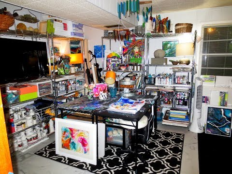 Cheryl Wilson My Artist Studio