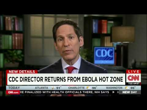 EBola | CDC Director   Ebola in Africa now an 'epidemic,' 'out of control'