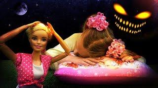 Видео для девочек - Хэллоуин в лесу - Мультики про Барби