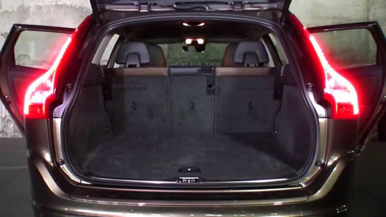 VOLVO XC 60 luggage boot  YouTube