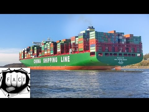 Top 10 Largest Container Ships In The World