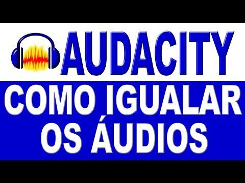 Como Igualar os Áudios das Músicas no Audacity