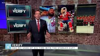 Verify: Has Ovechkin used up all his time with the Stanley Cup?