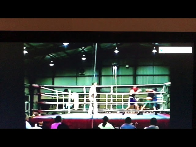 Justin Lacey boxing debut 1995