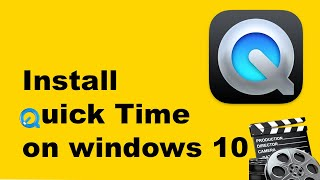 How to install quicktime on windows 10 the easy way!2018