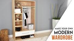 DIY CLOSET // MODERN Wardrobe with a drawer