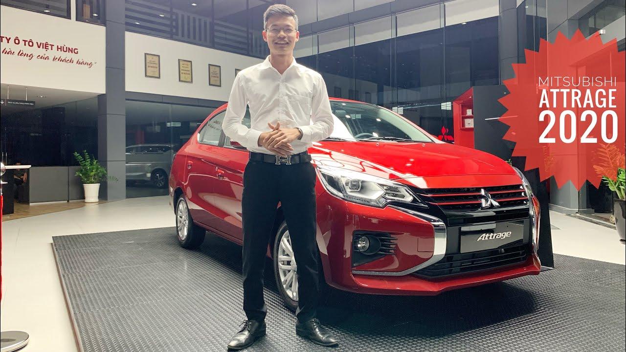 Đánh giá Mitsubishi Attrage 2020. Giá từ 375 triệu, tặng bảo hiểm thân vỏ + voucher 10 triệu.