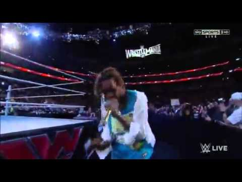 Wiz Khalifa on WWE Monday Night Raw 3