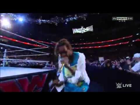Wiz Khalifa on WWE Monday Night Raw 3