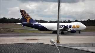 Atlas Air Boeing 747-400F em Manaus