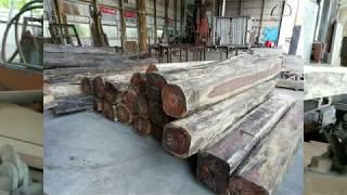 Granadillo sawing