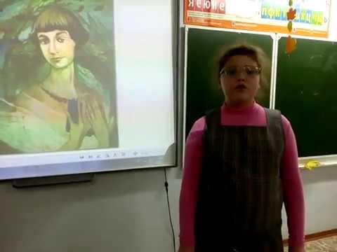 Изображение предпросмотра прочтения – СофьяСтяжкина читает произведение «Рождественская дама» М.И.Цветаевой