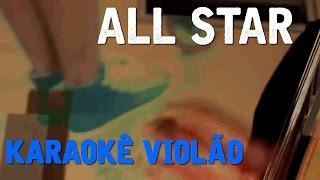 All Star - Nando Reis - Karaokê com violão