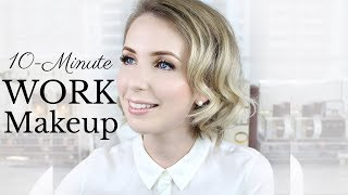 FAST & EASY Work/Uni/Interview Makeup Tutorial | Pale Skin