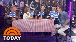 Rascal Flatts Play 'Never Have I Ever' With Blake Shelton And Hoda Kotb | TODAY