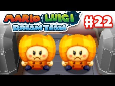 Mario & Luigi: Dream Team - Gameplay Walkthrough Part 22 - Mega Pi'illos (Nintendo 3DS)